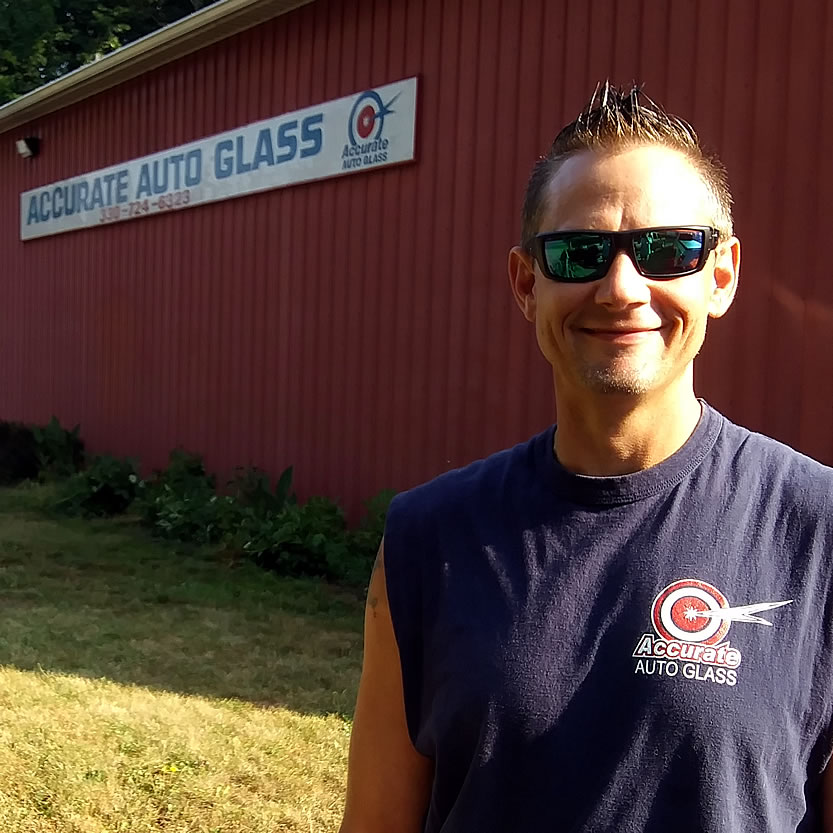 Accurate Auto Glass Technician Jay